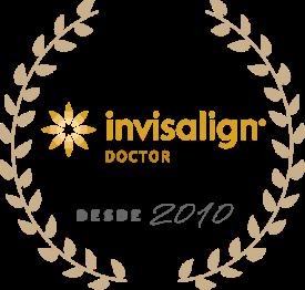 Selo de qualidade Invisalign Doctor desde 2010